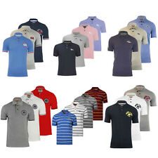 Mens 'Tokyo Laundry' Polo Collared T Shirt Short Sleeve Cotton Summer Top S-XXL