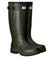 SALE Field Mens Hunter Classic Balmoral Long Wellington Boots Adjustable Calf
