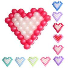 40pcs Balloons Heart-shaped Modeling Grid Wedding Birthday Party Decoration