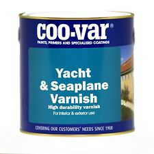 Coo-Var Yacht & Seaplane Varnish Gloss Finish Interior & Exterior 2.5 Litre 2.5L