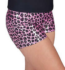NWT Natalie Booty Short Metallic Pink S, M  L