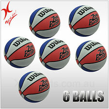2 or 4 or 6 WILSON BASKETBALL - ZONE BUSTER - SIZE 7