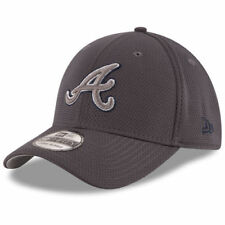Atlanta Braves New Era Tone Tech Redux 39THIRTY Flex Hat - Graphite - MLB