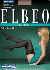 Elbeo Support Active Care 40, Thigh-Highs, 3 pack, Intensive support graduated