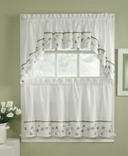 """CHF Clover 58"""" Compwin Kitchen Curtains"""