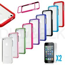 Luxury Ultra Thin Metal aluminum Alloy Bumper Frame Case Cover for iPhone 5S SE