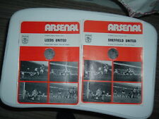 Arsenal v Leeds United Football Programme. 1973/74.
