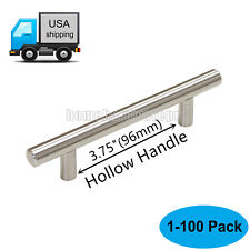 "1-100pcs Length 6""150mm Stainless Steel Handles Door/Cabinet/Drawer T Bar Pulls"
