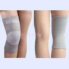 Sports Elastic Leg Knee Support Brace Wrap Protector Guard Volleyball Knee Pad
