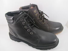 Caterpillar Utility Chukka Mens Black or Brown Leather Cat Boots