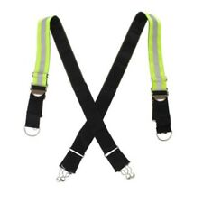 LINE2design Firefighter Reflective Triple Trim X-Back Suspenders