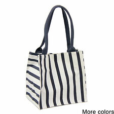 Handmade Saachi Indian Summer Tiny Tote Canvas Striped Bag (India)