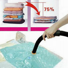 Portbale Space Saver Saving Storage Bags Vacuum Seal Compressed Organizer Bag