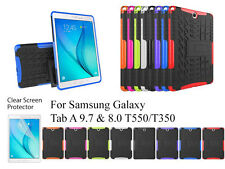 "Heavy Duty with Kickstand case/Screen Protector For Samsung Galaxy Tab A 8""/9.7"""