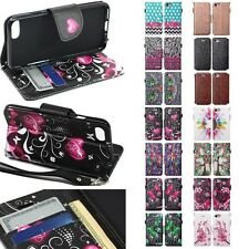 For Apple iPhone 7 Cell Phone Case Hybrid PU Leather Wallet Pouch Flip Cover