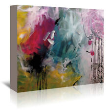 Americanflat Crazy Fin by Annie Rodrigue Painting Print on Wrapped Canvas