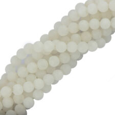 6mm 8mm Round Jade Gemstone Spacer Loose Beads Jewelry Making Findings DIY 15''