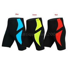 Men's Cycling Shorts 3D Padded Biking Bicycle Bike MTB Short Pants Tights AA