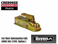 "Buyers Products 0091050ZY, Coupler, 1-7/8"" Ball x 2"" Channel, Zinc Yellow"