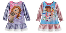 DISNEY SOFIA THE FIRST or DOC MCSTUFFINS NIGHTGOWN - SIZE 2T,3T or 4T - NWT!