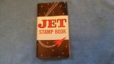 VINTAGE UNUSED JET STAMP BOOK  JET TRADING STAMPS RARE SAVINGS STAMPS
