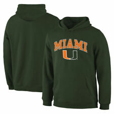Miami Hurricanes Campus Pullover Hoodie - Green - College