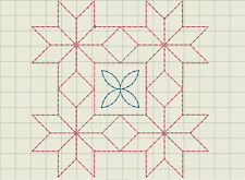 Machine Quilting Embroidery Designs - Almost 1,000 on CD/USB - 10 Formats