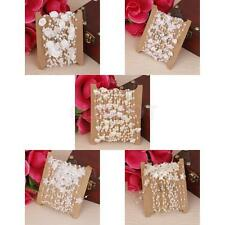 5M Faux Pearl Bead String Garland DIY Wedding Party Hanging Decor Craft Trimming