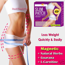 30pcs Magnetic Slimming Patch Natural Weight Loss Diet Fat Burn Detox Trim Belly