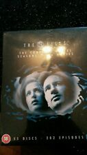 The X Files complete series seasons 1-9 55 discs 202 episodes