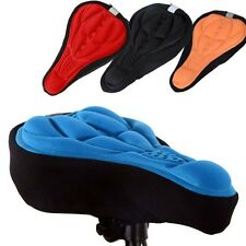 3D GEL Silicone Bike Bicycle Cycle Extra Comfort Saddle Seat Pad Cushion Cover