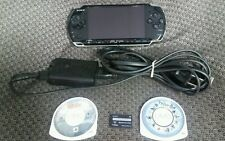 Sony PSP 3000 Entertainment Pack Piano Black Handheld System, MINT !
