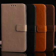 Luxury Leather Flip Card Wallet Stand Cover Case Skin For Samsung Galaxy S5 Neo
