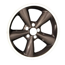 OEM Reman 18x8.5 Alloy Wheel Dark Charcoal Metallic Painted with Flange Cut-3648