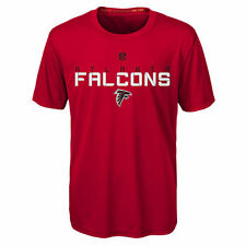 Atlanta Falcons Youth Magna Maximal Dri Tek T-Shirt - Red - NFL