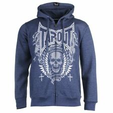 TAPOUT SKULL HOODY - BLUE
