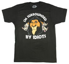 Disney The Lion King Scar Surrounded By Idiots T-Shirt