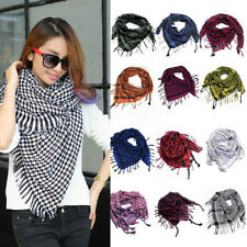 Fashion Unisex Women Men Arab Shemagh Keffiyeh Palestine Scarf Shawl Wrap New  X