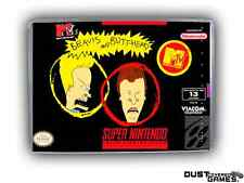 Beavis and Butthead Super Nintendo SNES Game Case Box Professional Quality!!!
