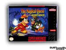 Magical Quest starring Mickey Mouse, The Super Nintendo SNES Game Case Box Profe