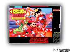 Great Circus Mystery: Starring Mickey and Minnie, The Super Nintendo SNES Game C