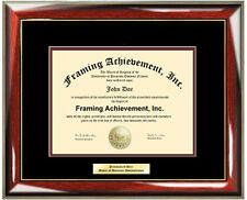 University Diploma Frame Engraved Certificate Frame Graduation College Framing