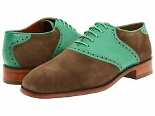 66% off NEW FLORSHEIM BY DUCKIE BROWN The Saddle Green Multi Oxford  retail $350