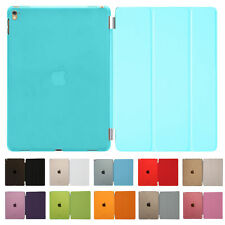 PU Leather Smart Stand Cover Hard Back Case for Apple iPad 4 3 2 Mini Air Pro