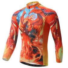 Phenix Long Sleeve Cycling Jersey Men's Bike Clothing Cycle Cycling Jacket S-5XL