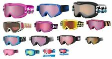 Bolle Youth Kids Snow Ski Goggles for Ages 6+ Many Colors Boys Girls OTG New