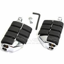 Highway Male Mounts Foot Pegs Footrests Clamps For Harley Softail Touring Dyna