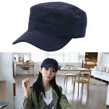 Fashion Classic Army Plain Hat Cadet Combat Field Military Patrol Baseball Cap