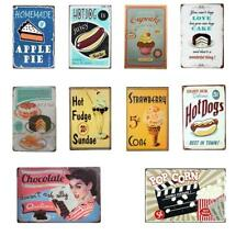 Retro Style Metal Tin Sign Plaque Wall Poster Cafe Pub Home 10 Kinds of Design