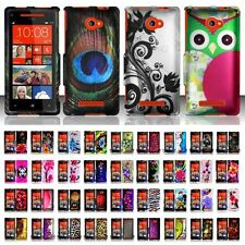 Hard Case Snap-On Plastic Cover Skin For HTC Windows Phone 8X Zenith 6990